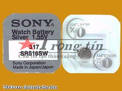 Pin đồng hồ SR516W Sony