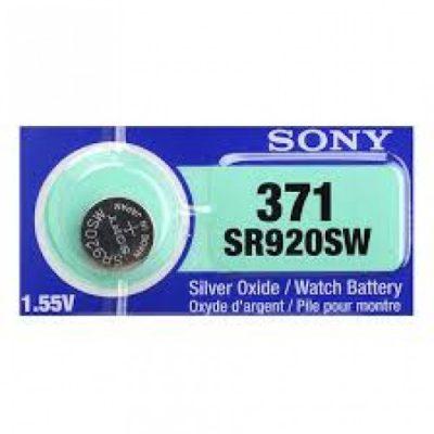 Pin đồng hồ Sr920sw 371