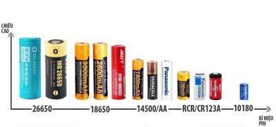 phân biệt các loại pin thông dụng