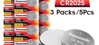 phân biệt pin cr2032 và pin cr2025