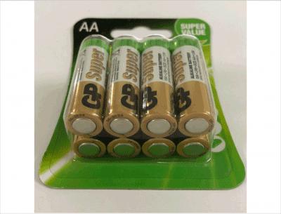 pin aa gp alkaline vỉ 8 viên