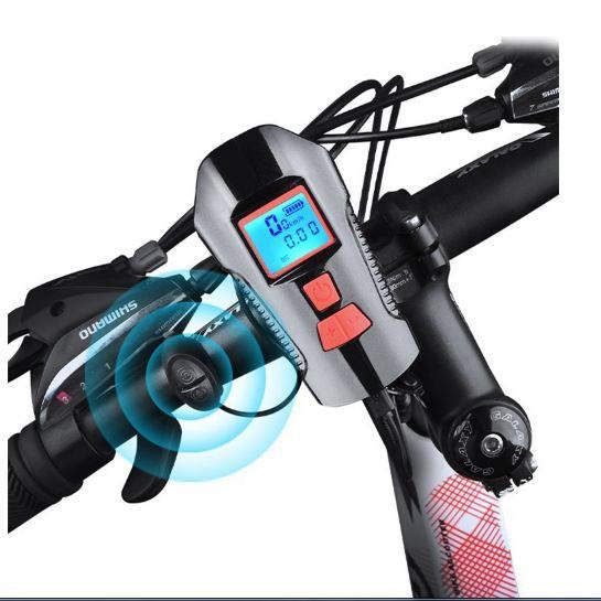 Đèn pin xe đạp 3 nút hiển thị pin